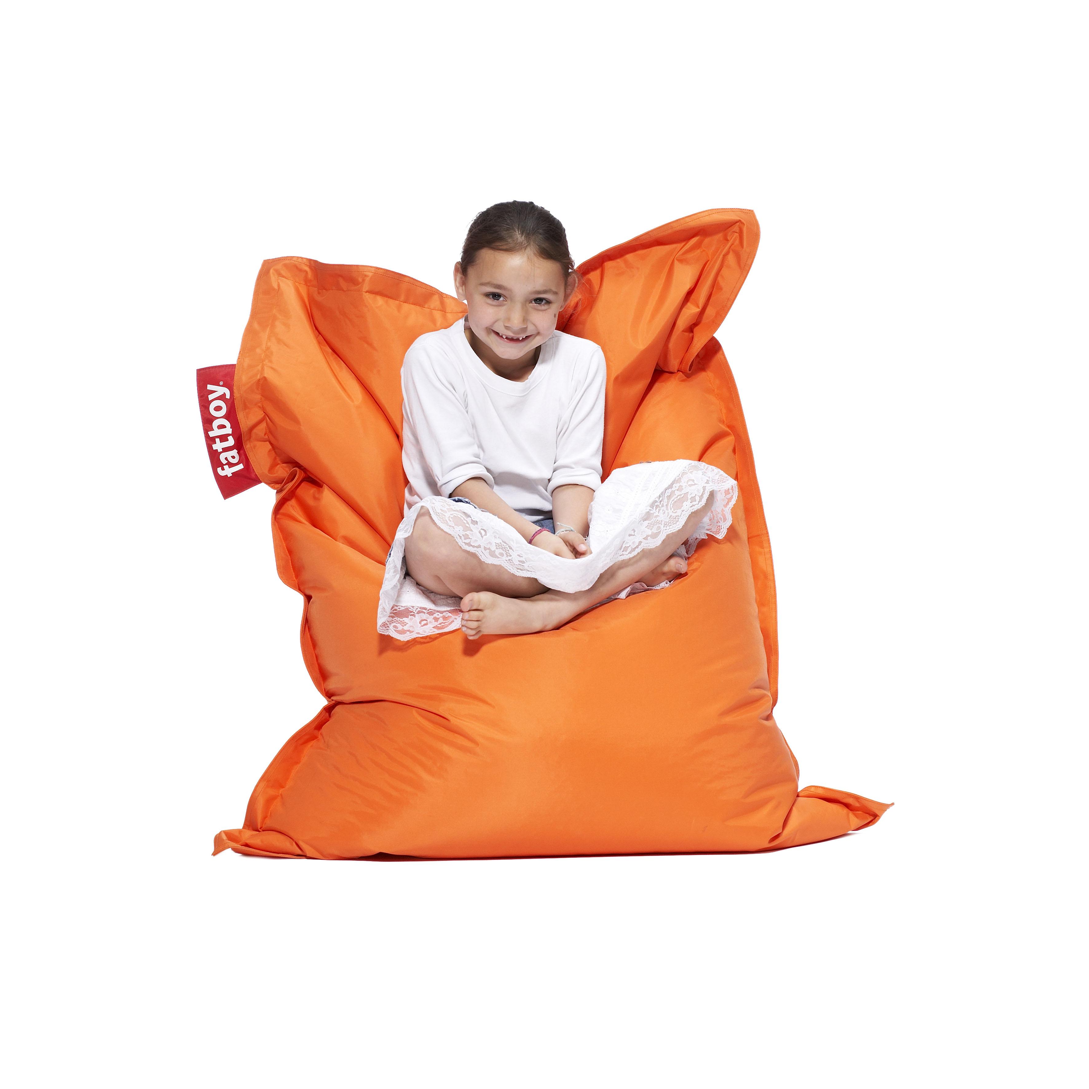 fatboy junior orange. Black Bedroom Furniture Sets. Home Design Ideas